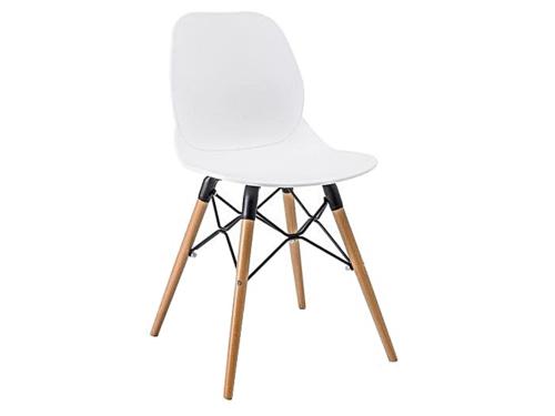 Topnotch KRZESŁO BIAŁE ITALO PW025 NOWOCZESNE DSW - Krzesła - Home Decor EX67